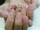 【ジェルネイル】ピンクNail