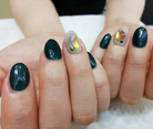 【ジェルネイル】winter nail☆